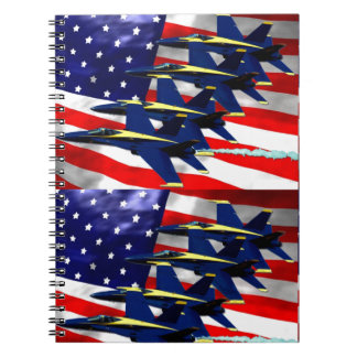 NAVY FIGHTER JET FORMATION NOTEBOOK
