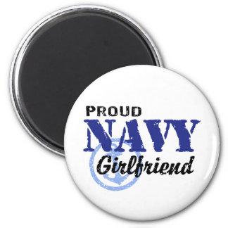 Navy Girlfriend 6 Cm Round Magnet