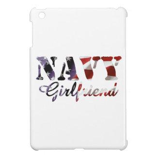 Navy Girlfriend American Flag Case For The iPad Mini