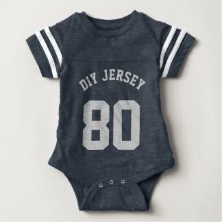 Navy & Gray Baby | Sports Jersey Design Tshirt