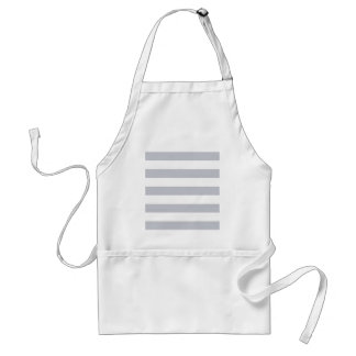 Navy grey white  marine standard apron