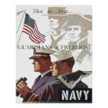 Navy Guardians of Freedom Poster