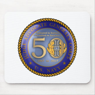 Navy JAG Corps 50th Mouse Mat