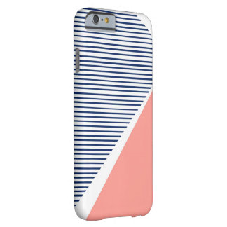 Navy Lines Triangle Phone Case