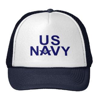 Navy Masons Hats