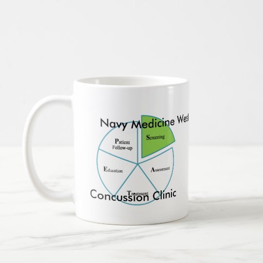 Navy Medicine West Concussion Clinic Process Coffee Mug