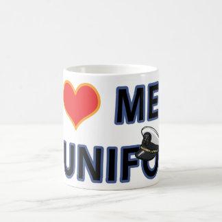 NAVY MEN IN UNIFORM BASIC WHITE MUG