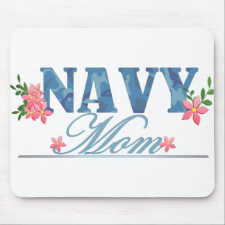 Navy Mom (Cammo) Mouse Mat