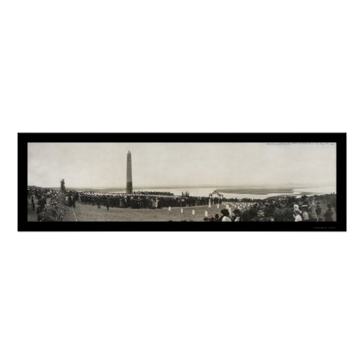 Navy Monument Pt Loma Photo 1908 Poster