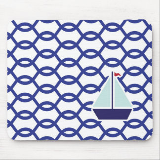 Navy mousepad