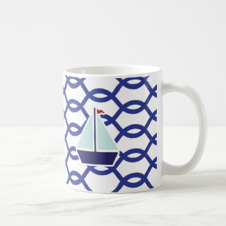 Navy mug