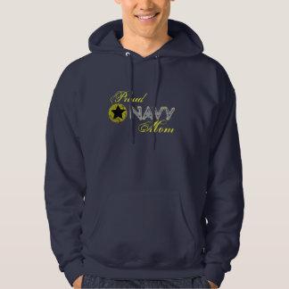 Navy mum hoodie