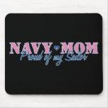 Navy Mum Proud of my Sailor Mousemats