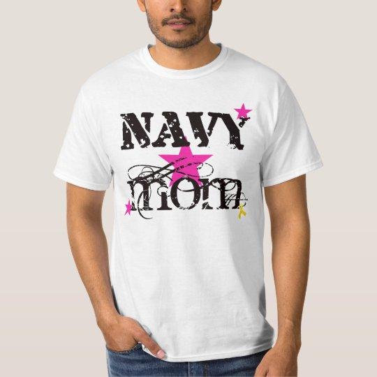 Navy Mum T-Shirt