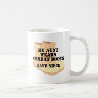 Navy Niece Aunt DCB Coffee Mugs