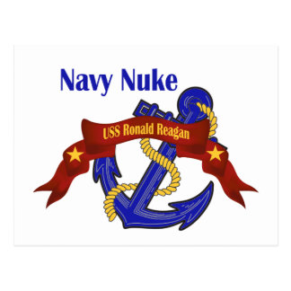 Navy Nuke ~ Reagan Postcard