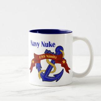Navy Nuke ~ USS Nimitz Coffee Mug