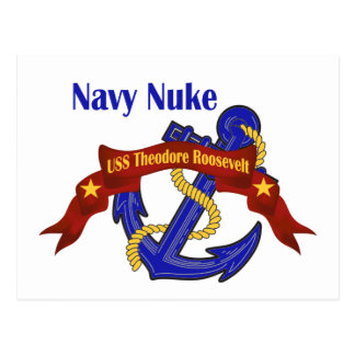 Navy Nuke ~ USS Theodore Roosevelt Postcard