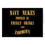 Navy Nukes Powered by Energy Drinks and Zoomies Cards