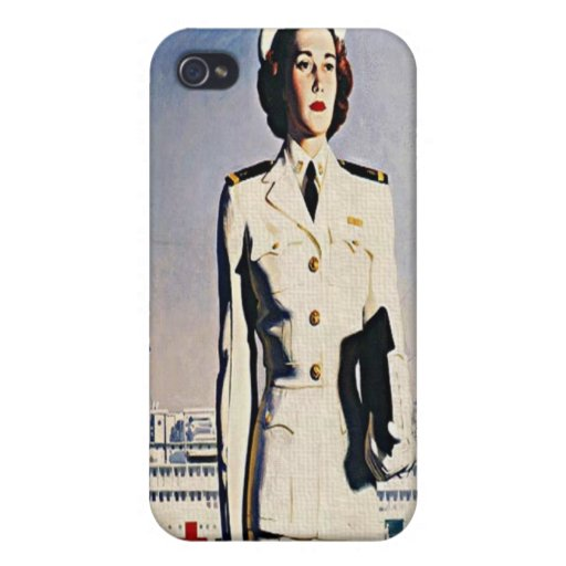 Navy Nurse Corps Recruiting poster  Speck iPhone 4 Case For iPhone 4