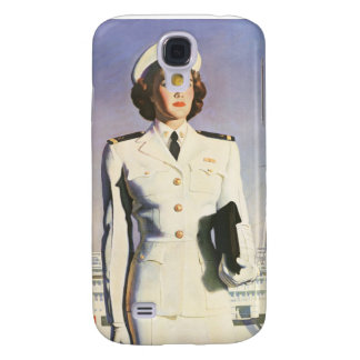 Navy Nurse Speck® Fitted™ Hard Shell Case for iPho Samsung Galaxy S4 Case