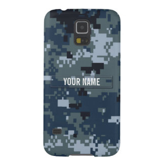 Navy NWU Camouflage Customizable Galaxy S5 Cover
