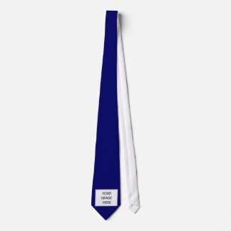 navy personalized tie