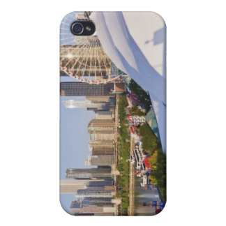 Navy Pier and Downtown Chicago Cover For iPhone 4