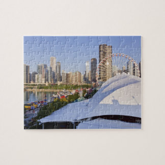 Navy Pier and Downtown Chicago Jigsaw Puzzle