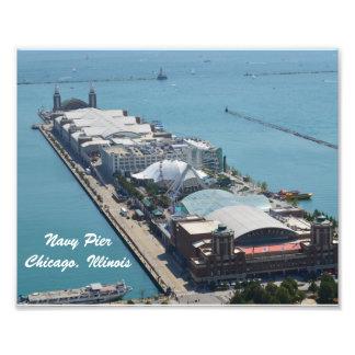 Navy Pier, Chicago Illinois Art Photo