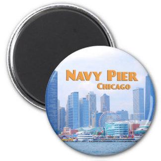 Navy Pier - Chicago Illinois Magnet