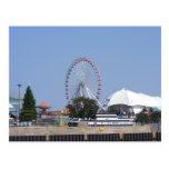 Navy Pier Ferris Wheel Postcard