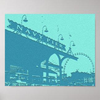 Navy Pier Poster