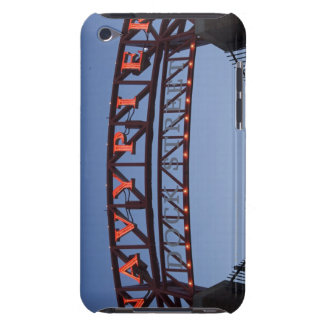 Navy Pier sign in Chicago Illinois USA iPod Touch Case-Mate Case
