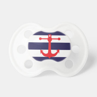 Navy & Red Nautical Pattern Dummy