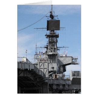 Navy Ship Card