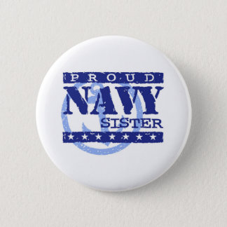 Navy Sister 6 Cm Round Badge