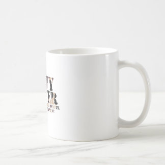Navy Sister Answering Call Basic White Mug