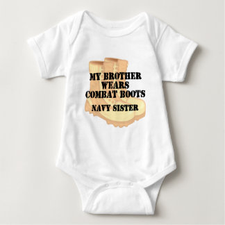 Navy Sister Brother DCB Tees