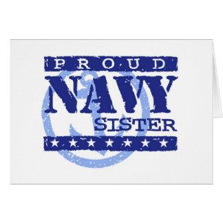 Navy Sister Card