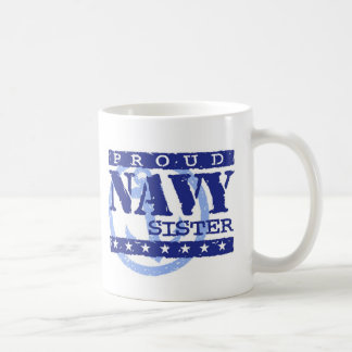Navy Sister Coffee Mug