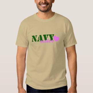 Navy Sister Green Pink Heart Tshirts
