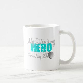 Navy Sister Hero Sister Basic White Mug