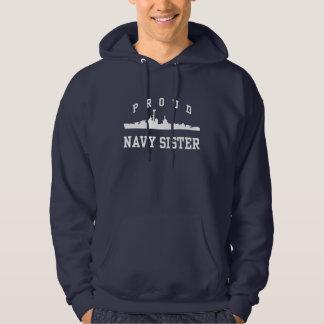 Navy Sister Hoodie
