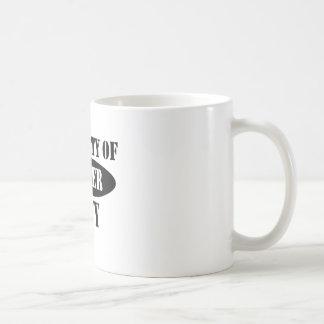Navy Sister Property Basic White Mug