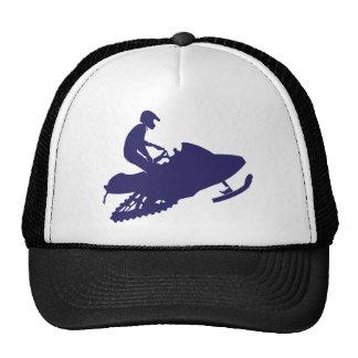 Navy-Snowmobiler Cap