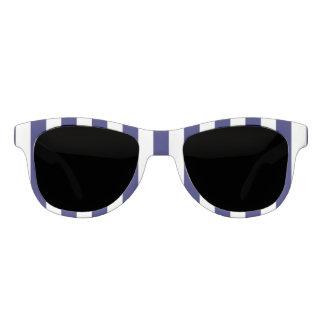 Navy Stripe Polarized Sunglasses
