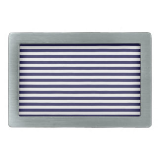 Navy Stripes Belt Buckles