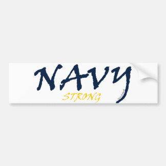 Navy Strong Bumper Sticker