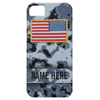 Navy Style Digital Camouflage Case
